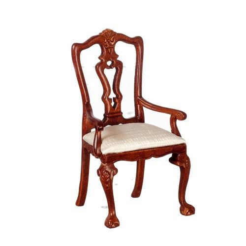 Surprising Queen Anne Armchair In Walnut Gmtry Best Dining Table And Chair Ideas Images Gmtryco