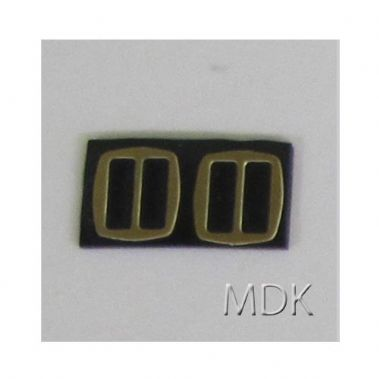 Cat's Paw Brass Military Buckles 2 pck