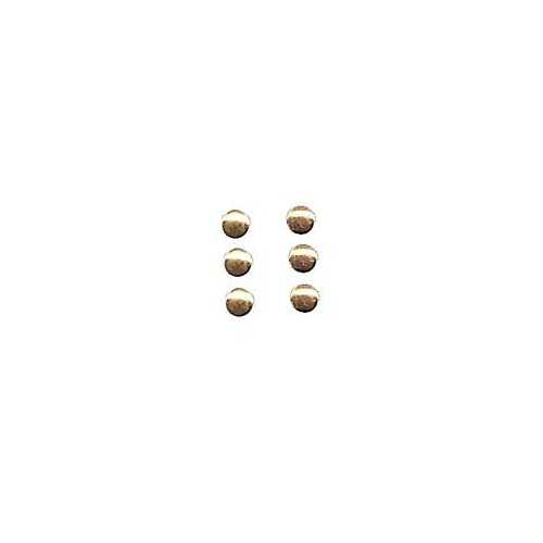 1.5 mm Mini Metal Button ~ Gold