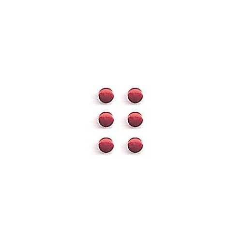 1.5 mm Mini Metal Button ~ Red