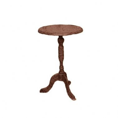 Candlestick Table Kit Brown