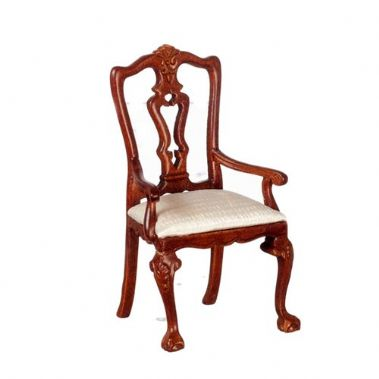 Queen Anne Armchair in Walnut
