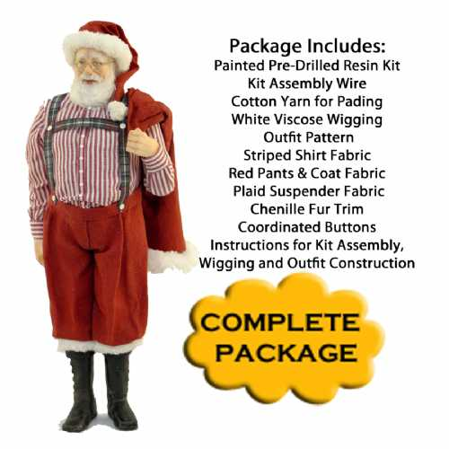 Santa Claus Complete Kit Package
