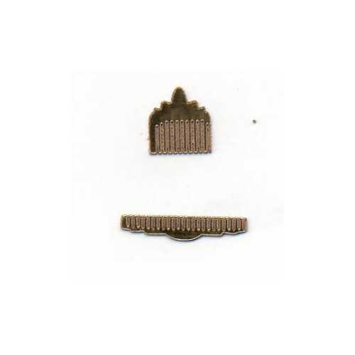 Ladies Comb Set Chromolux