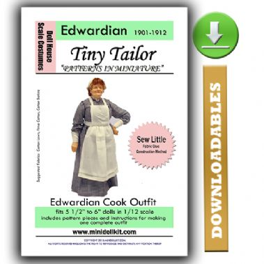 Downloadable Edwardian Cook Pattern