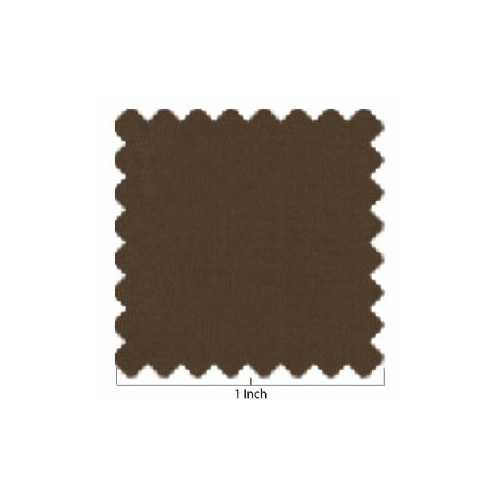 100% Lawn Cotton Chocolate Brown Fabric