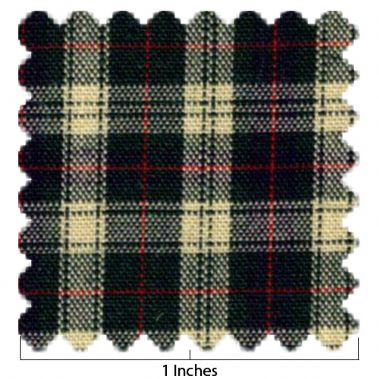 100% Cotton Plaid No 23