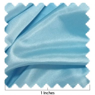 China Silk Frozen Blue Fabric