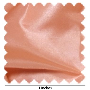 China Silk Peach Fabric