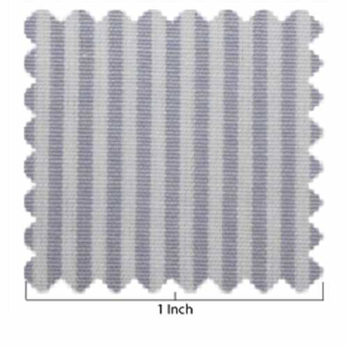 100% Cotton Gray & White Stripe Fabric