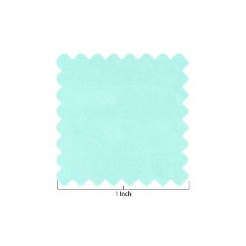 100% Lawn Cotton Light Blue Green Fabric