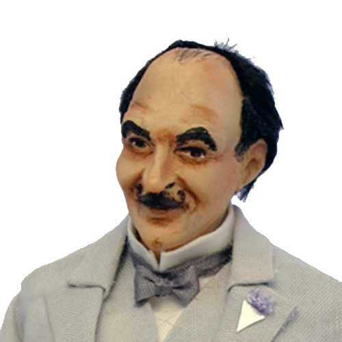 Hercule Poirot Doll Kit
