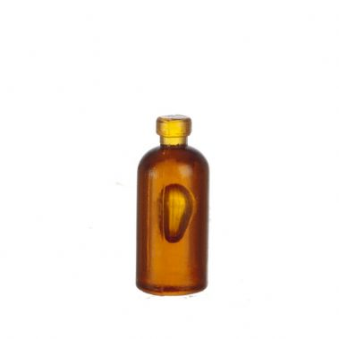 Medicine bottle brown