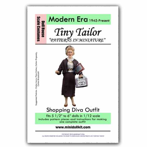 Modern Era Shopping Diva Outfit Pattern