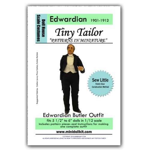 Edwardian Butler Outfit Pattern