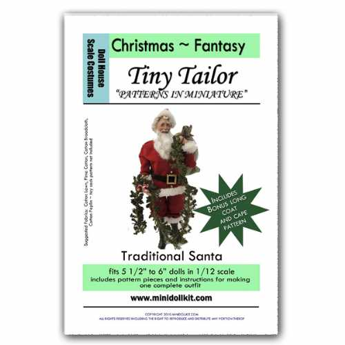 Traditional Santa Outfit Pattern