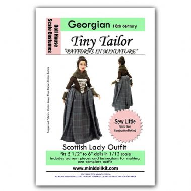 18th c Scottish Lady Outfit