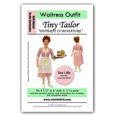 Waitress Outfit Pattern