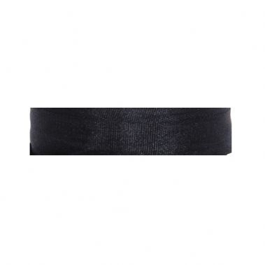 100% Silk Ribbon Black 7mm