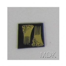 Brass Hair Comb 2 Pcs