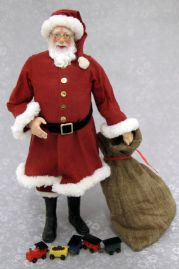 Santa Claus in Traditional Red