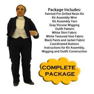 Edwardian Butler Complete Kit Package