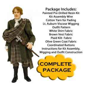 Scottish Highlander Complete Kit Package