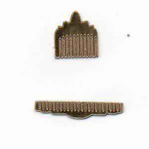 Ladies Comb Set - Gold