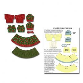 Childs Christmas Printable Dress