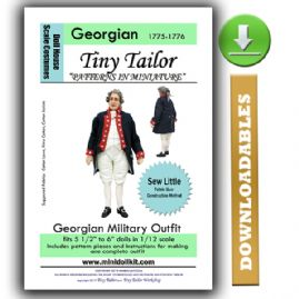 Downloadable Georgian Era Military Outfit Pattern