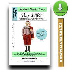 Downloadable Modern Santa Outfit Pattern