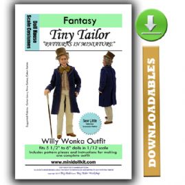 Downloadable Willy Wonka Outfit Pattern