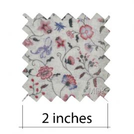 Papillon Blueberry Fabric