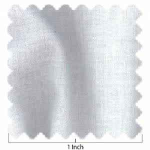 100% Lawn Cotton White Fabric