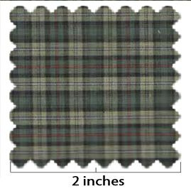 100% Cotton Plaid No 1