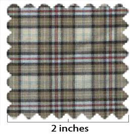 100% Cotton Plaid No 3