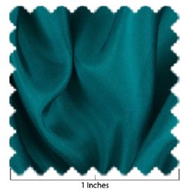China Silk Deep Teal Fabric