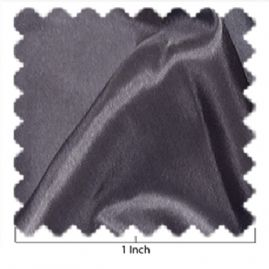 China Silk Gun Metal Gray Fabric