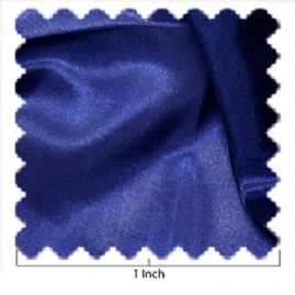 China Silk Navy Blue Fabric