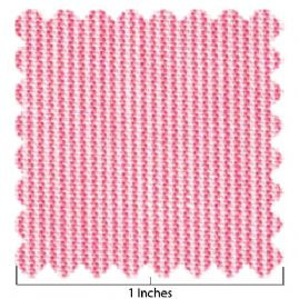 100% Cotton Raspberry Micro Stripe Fabric