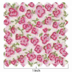 100% Cotton All-Over Flower- Pink
