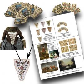 18th Century Printables Pack no2
