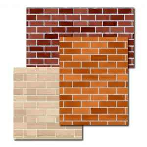 Brick Wall 3 Pack