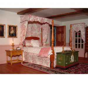 Chippendale Style Bed Canopy Pattern