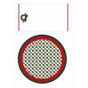 Mrs. Santa Printable Fabric Accessories