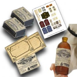 Victorian Pharmacy Printables
