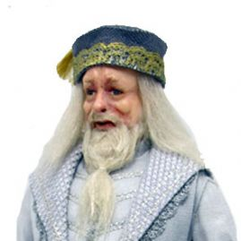 Wizard Dumbledore Doll Kit