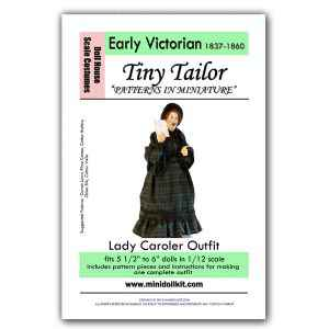 Lady Christmas Caroler Outfit Pattern