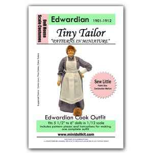 Edwardian Cook Outfit Pattern