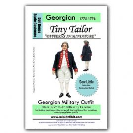 Georgian Military Outfit Pattern